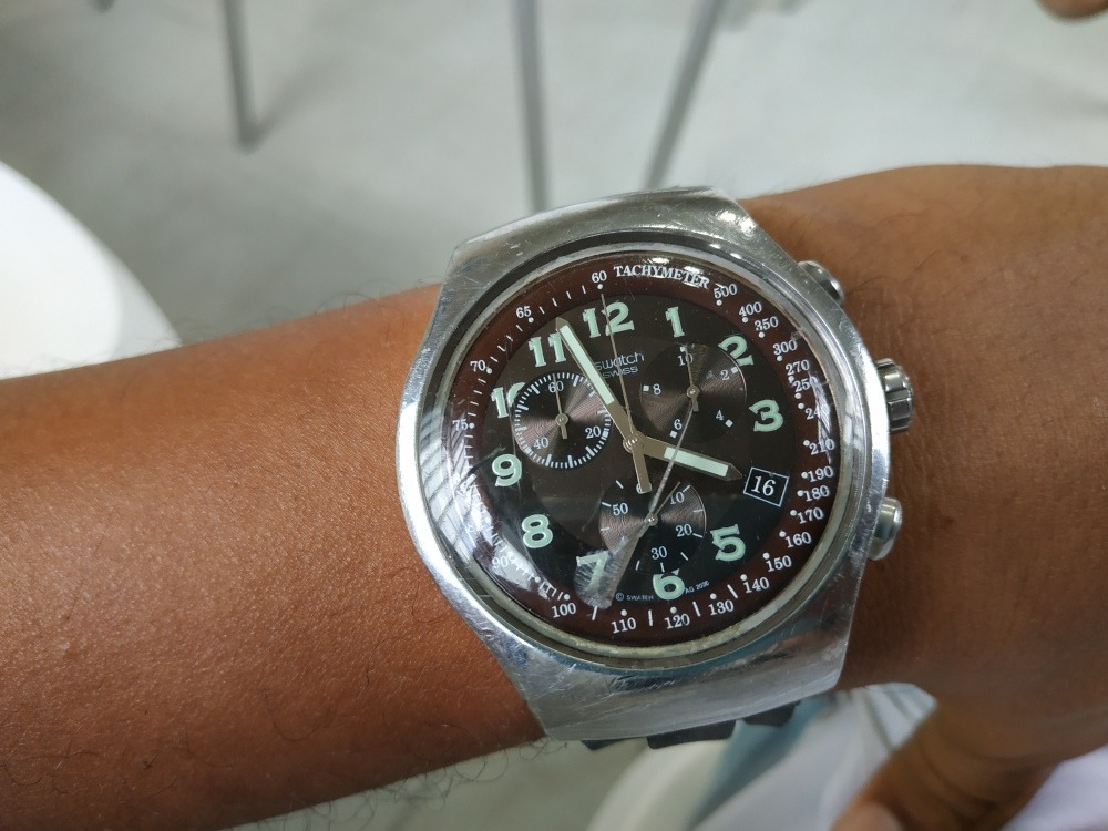 c8dba654b77 Relógio Swatch Swiss Yos440 Original Usado Funcionando Tudo! - R ...