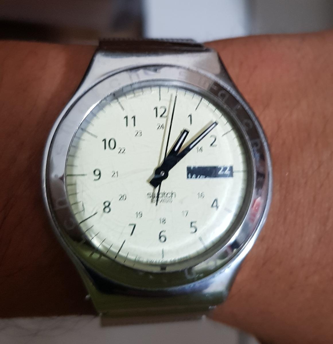 246b6923a65 Relogio Swatch Usado Abaixei Valor Para Conserto - R  50