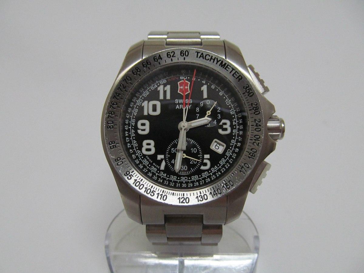 b5d14b3e051 relógio swiss army victorinox ground force - titânio. Carregando zoom.