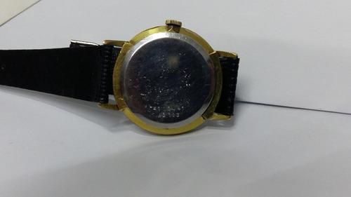 relógio swiss doxa folhado a ouro, excelente antiguidade