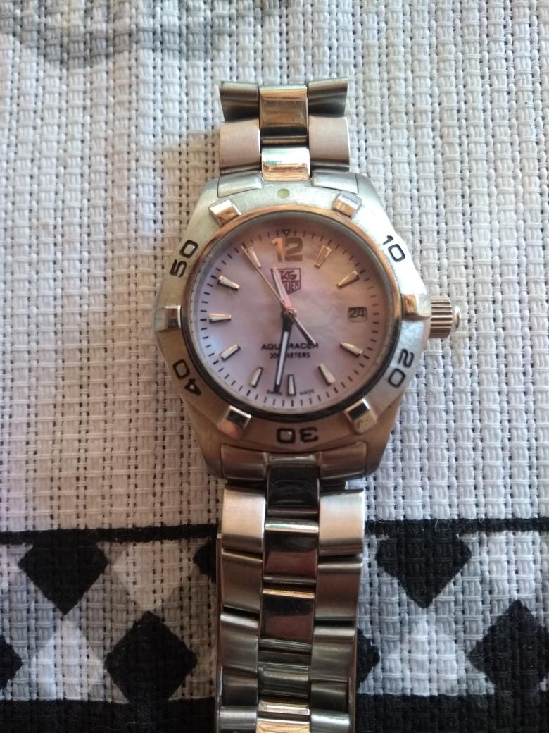 7f55a6e8516 Relógio Tag Hauer Aquaracer Feminino - R  700