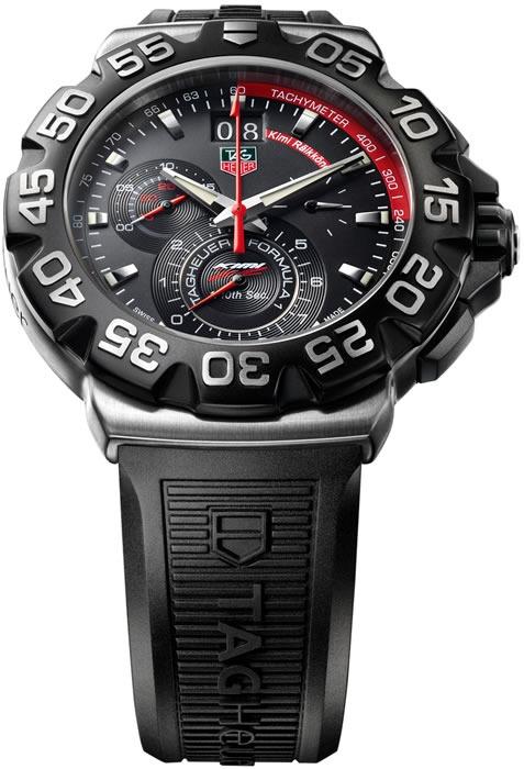 b06e978a76c Relógio Tag Heuer Cah1014 Bt0718 Formula 1 One F1 Kimi - R  6.599
