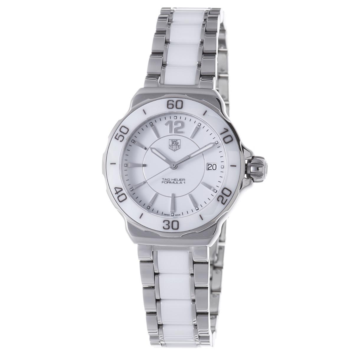 514068cc84b Relógio Tag Heuer Formula 1 - Stainless Steel White Ceramic - R ...