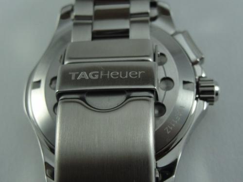 relógio tag heuer aquaracer alarme - waf111z - original