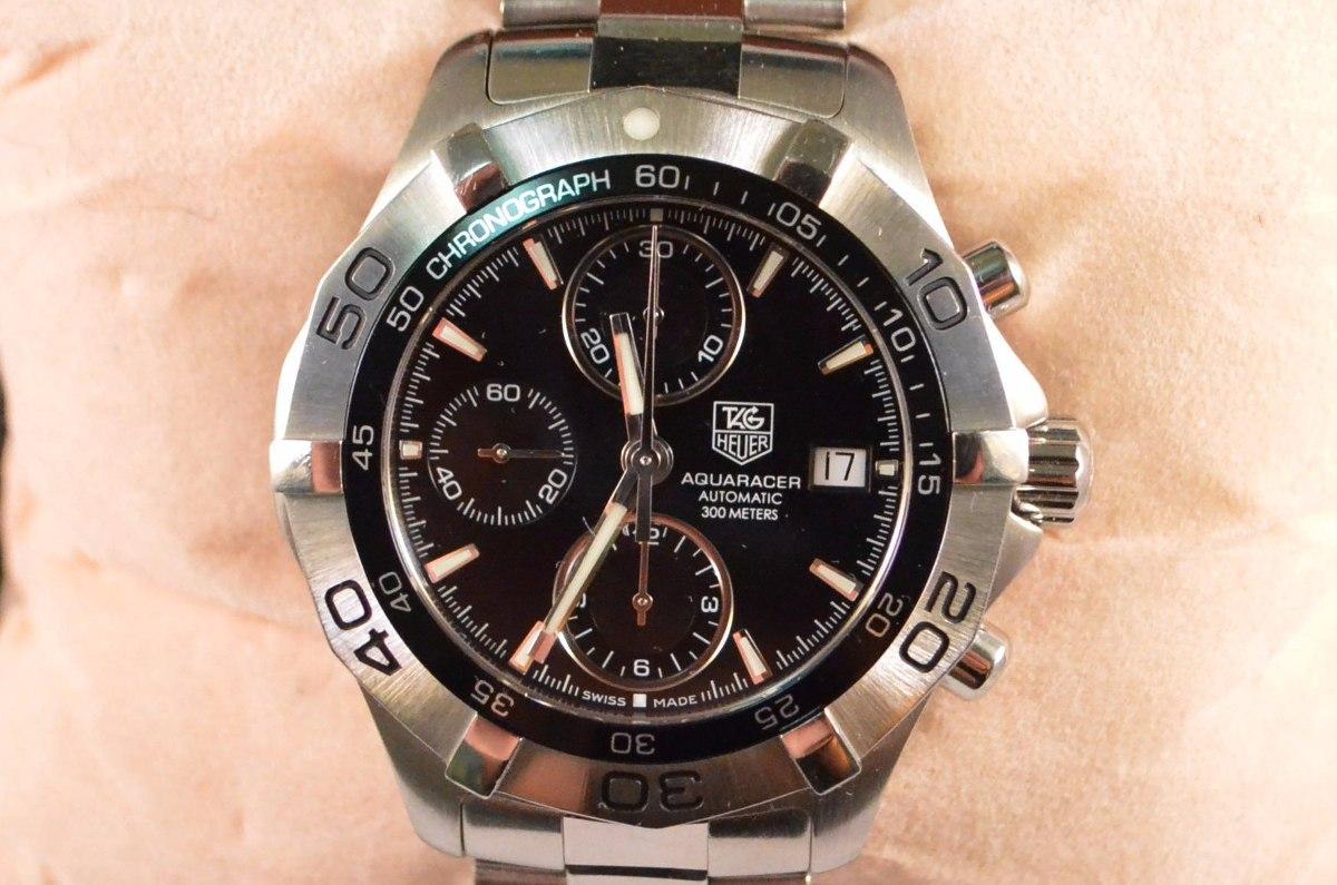 Relógio Tag Heuer Aquaracer Automatico Caliber 16 Cronografo - R ... cc964cdbe9