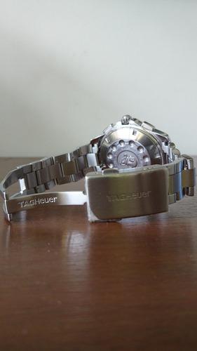 relógio tag heuer aquarecer chronotimer caf 1011.