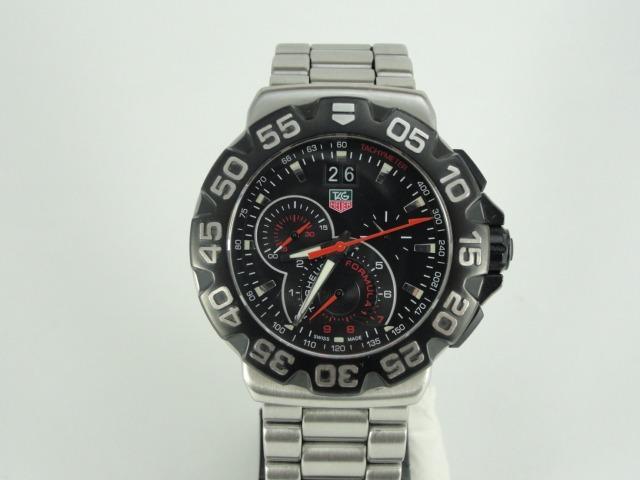 6daf9a0475a Relógio Tag Heuer Cah1010 - Fórmula 1 Grand Date - Original