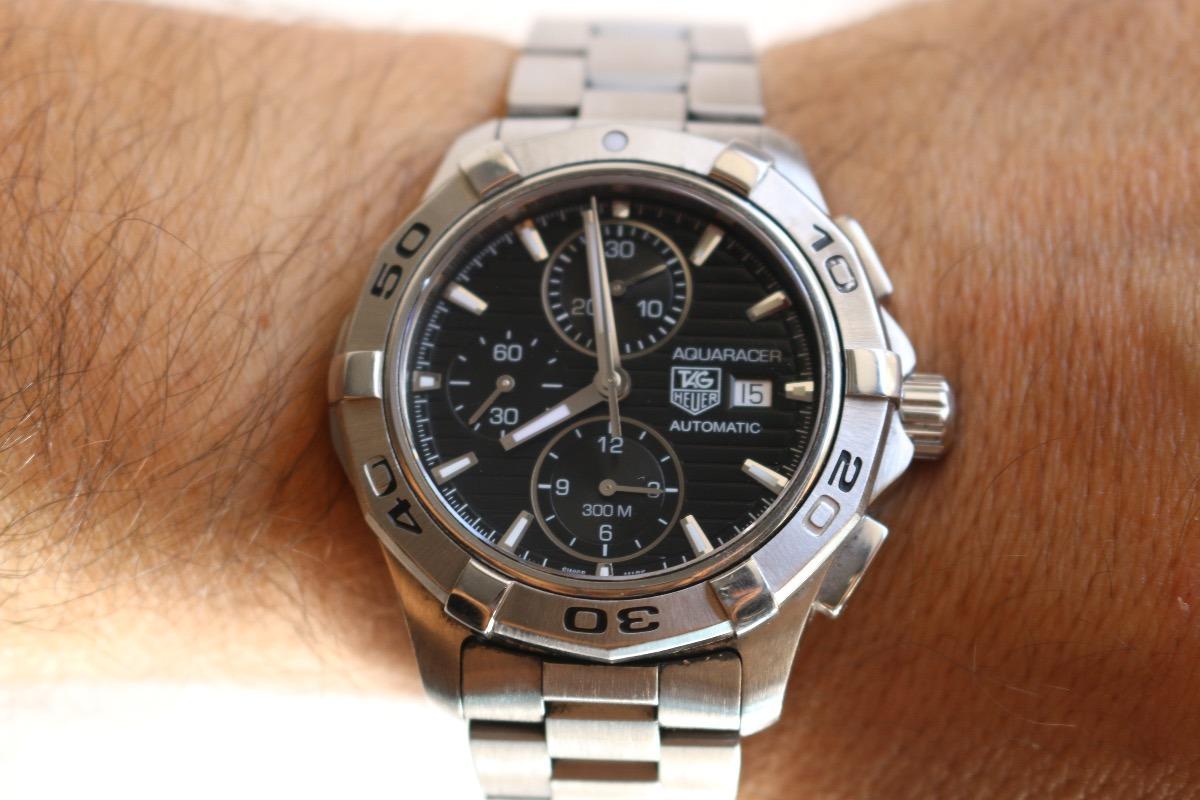 af3f69d267f relógio tag heuer cap2110 aquaracer sapphire crystal rolex. Carregando zoom.
