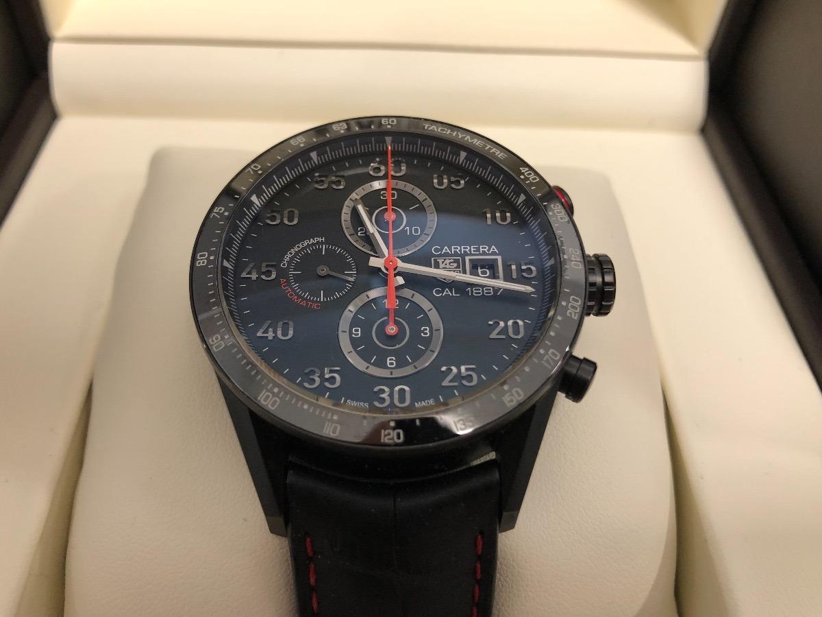 d1550a980e0 relógio tag heuer carrera 1887 car2a80 titanium ac omega. Carregando zoom.