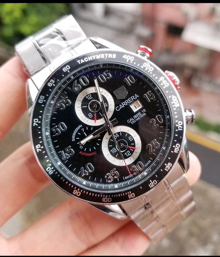 fb668d723bf relógio tag heuer carrera automático original (promoção). Carregando zoom.