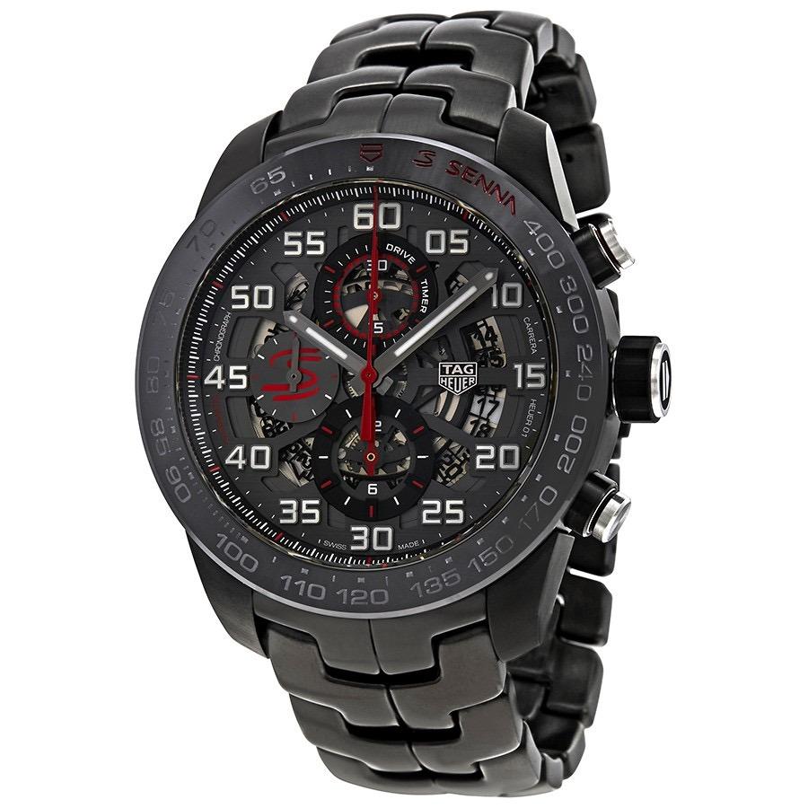 c9a7f4c6b8f relogio tag heuer carrera chronograph automatic. Carregando zoom.
