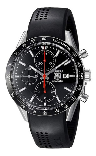 relógio tag heuer carrera cv2014.ft6014 automatic chronograp