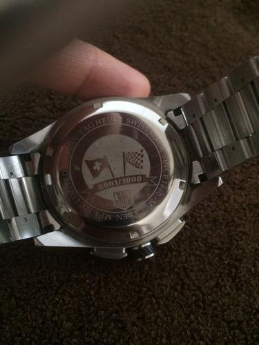 relógio tag heuer carrera edição limitada