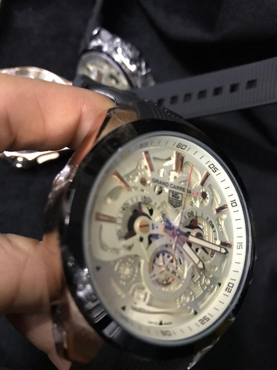 0b47a5e5d9e relógio tag heuer ed. grand carrera ls luxo - prova dágua. Carregando zoom.