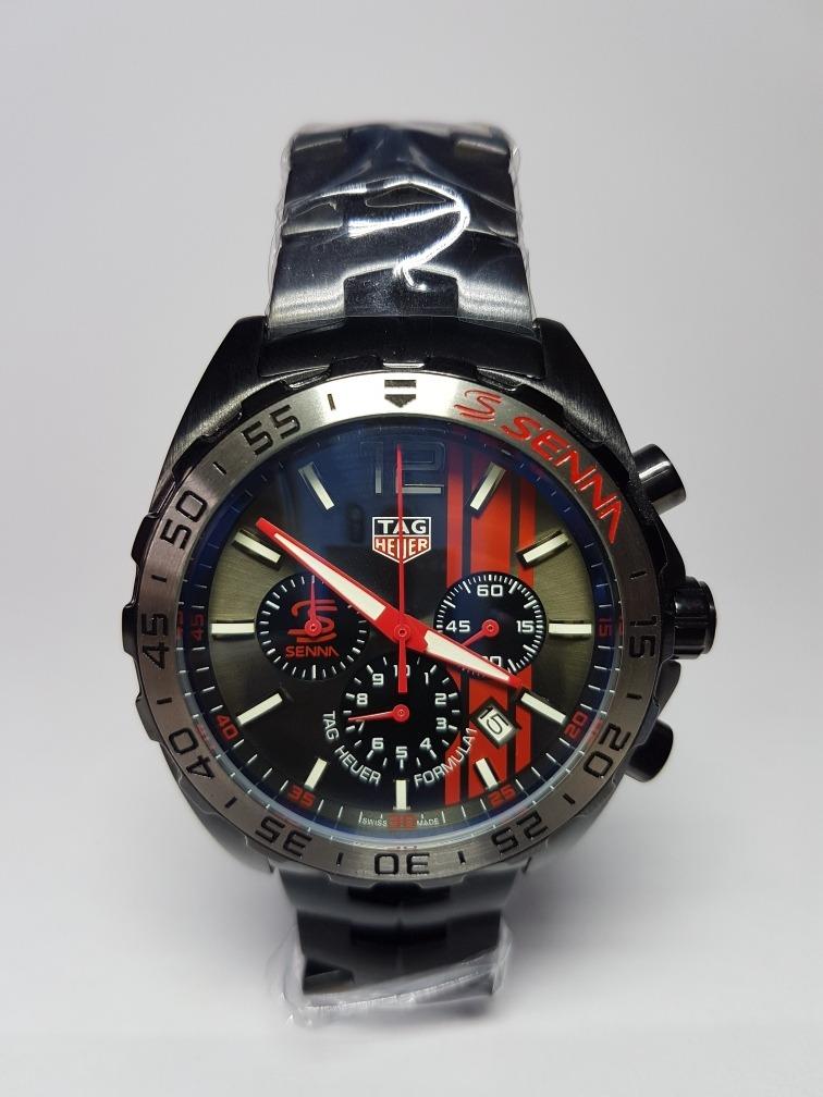09b99c1f290 relógio tag heuer edição airton senna formula 1. Carregando zoom.