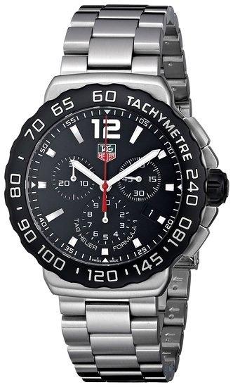 d023ee781db Relogio Tag Heuer Formula 1 Cau1110.ba0858 Black Dial - R  12.338