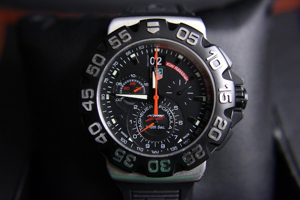 93bfb482492 relógio tag heuer formula 1 kimi raikkonen cah1014 original. Carregando  zoom.
