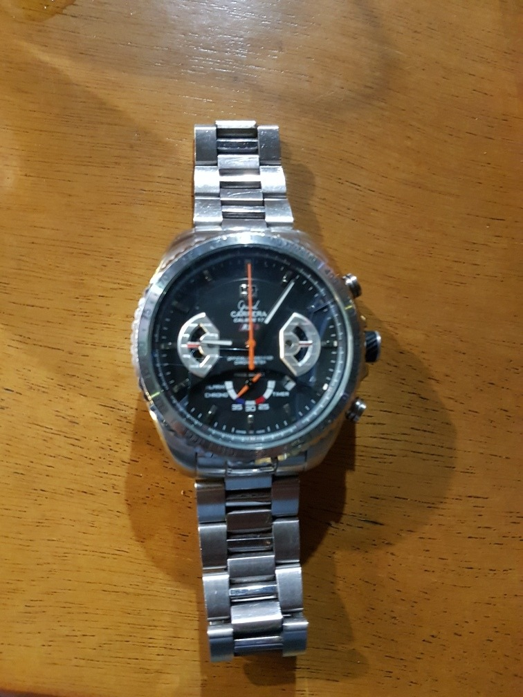 943df6a4e7a relogio tag heuer grand carrera calibre 17. Carregando zoom.