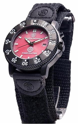 relógio tático firefighter- smith & wesson