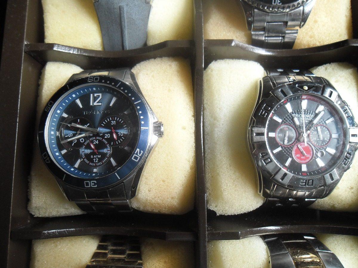 19aabf70470 Relogio Technos 12 Relógios Originais Mais Brinde - R  1.850