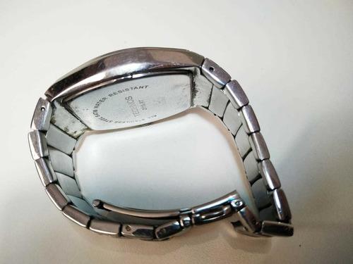 relógio technos 2115.rt masculino prateado usado original