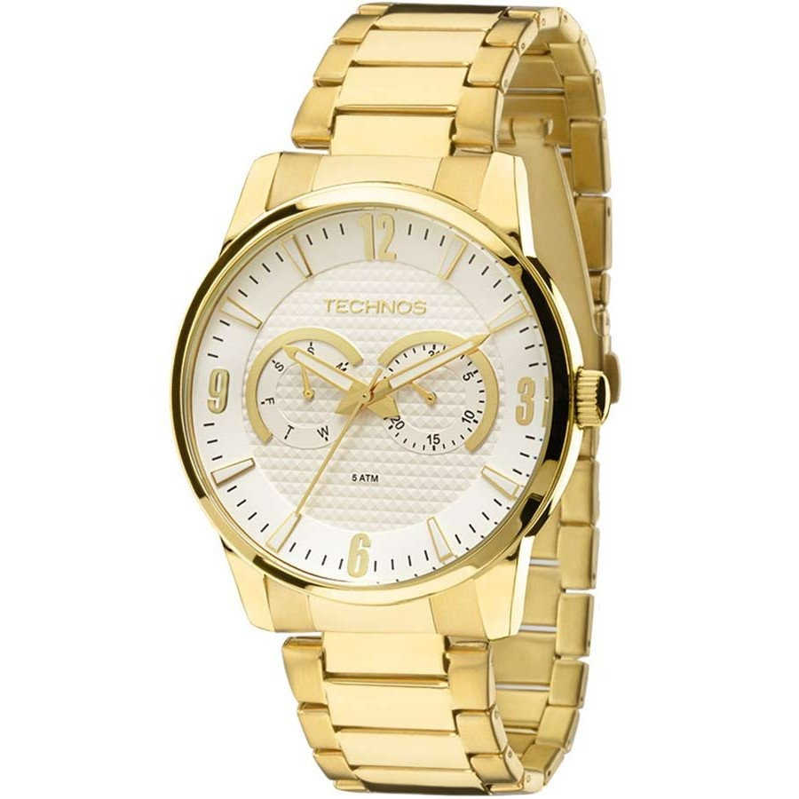 98fc33690a5 Relógio Technos 6p25an 4k (aço Inox