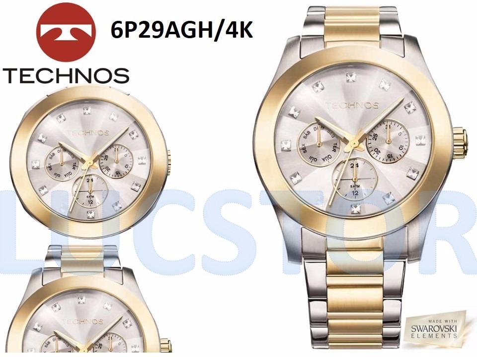 688e43fbcae relógio technos 6p29agh 4k elegance swarovski feminino. Carregando zoom.