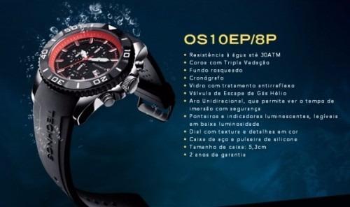 Relógio Technos Acqua 300 M Borracha Os10ep 8p Promoção! - R  479,00 ... 1864ff0860