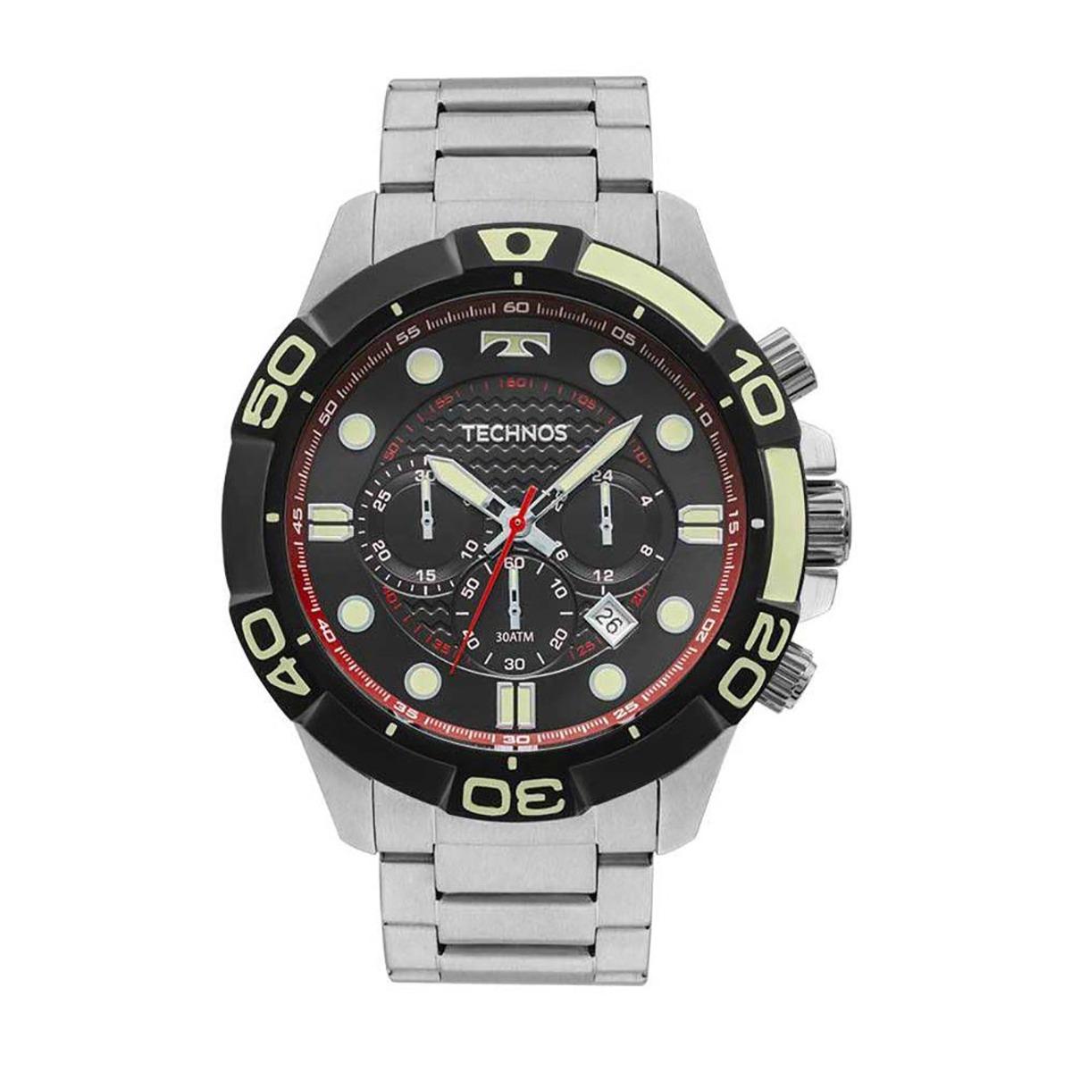 relógio technos acqua original masculino js25bp 0p com nota. Carregando  zoom. 72248ca455