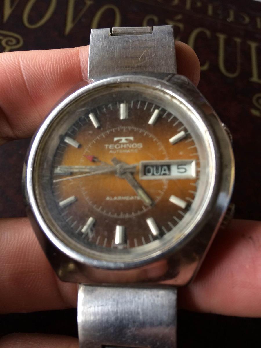 7d9159935cb Relógio Technos Alarm Automatico (restauro) 018 - R  550