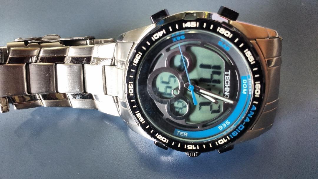 ade3971df284f Relógio Technos Analógico E Digital Modelo Ca851a - R  150,00 em ...