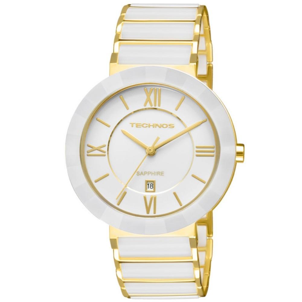 Relógio Technos Analógico Elegance Ceramic Sapphire 2015bv 4 - R  739,00 em  Mercado Livre eea28a947e