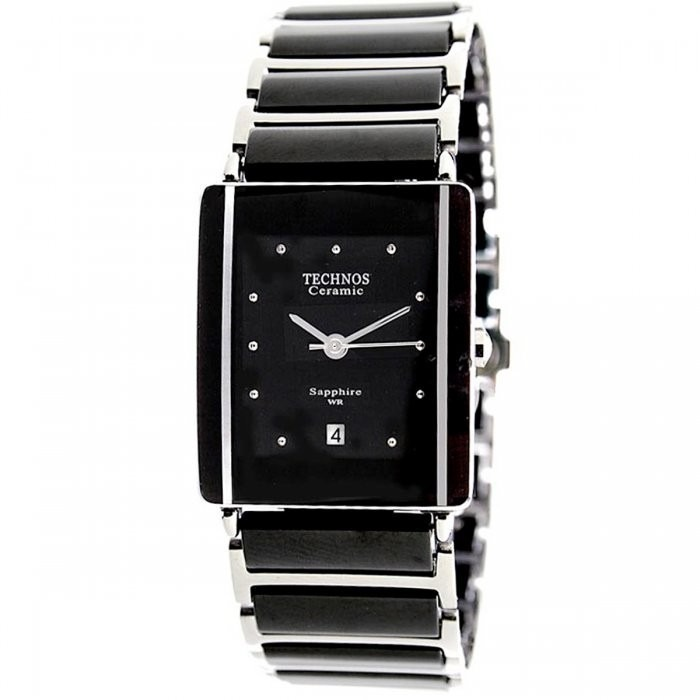 Relógio Technos Analógico Elegance Ceramic Sapphire Gn10abpa - R ... 95b21f0e44