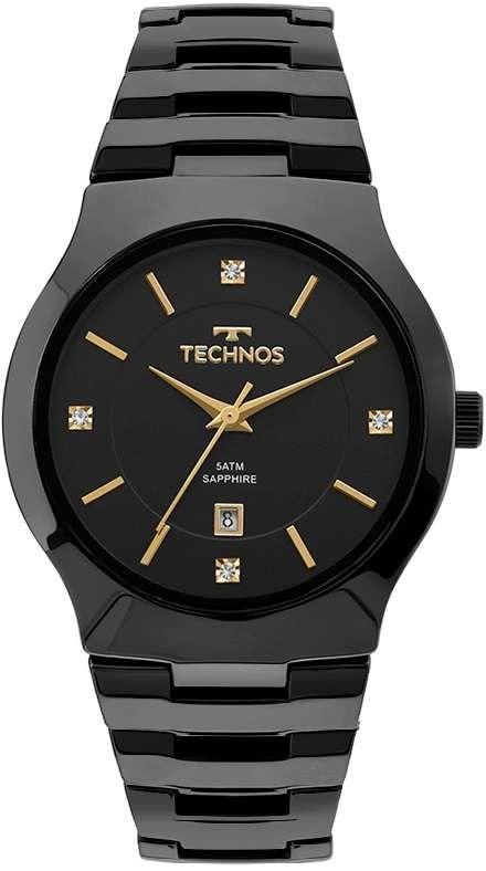 Relógio Technos Analógico Elegance Ceramic Sapphire Gn10au 4 - R ... 74294a56c4
