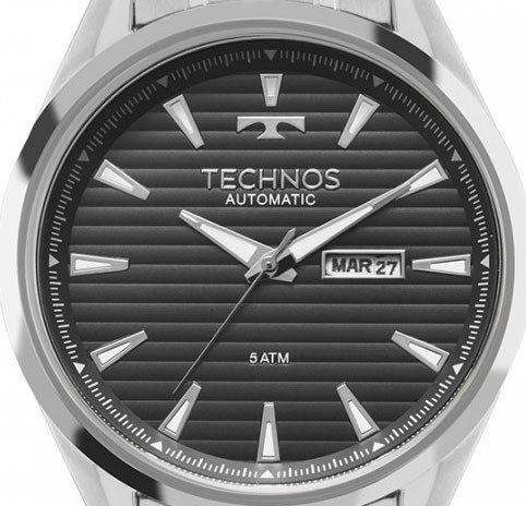 6f7a3b742c28e Relógio Technos Automático Lindo 8205nw op + Frete - R  689,99 em Mercado  Livre