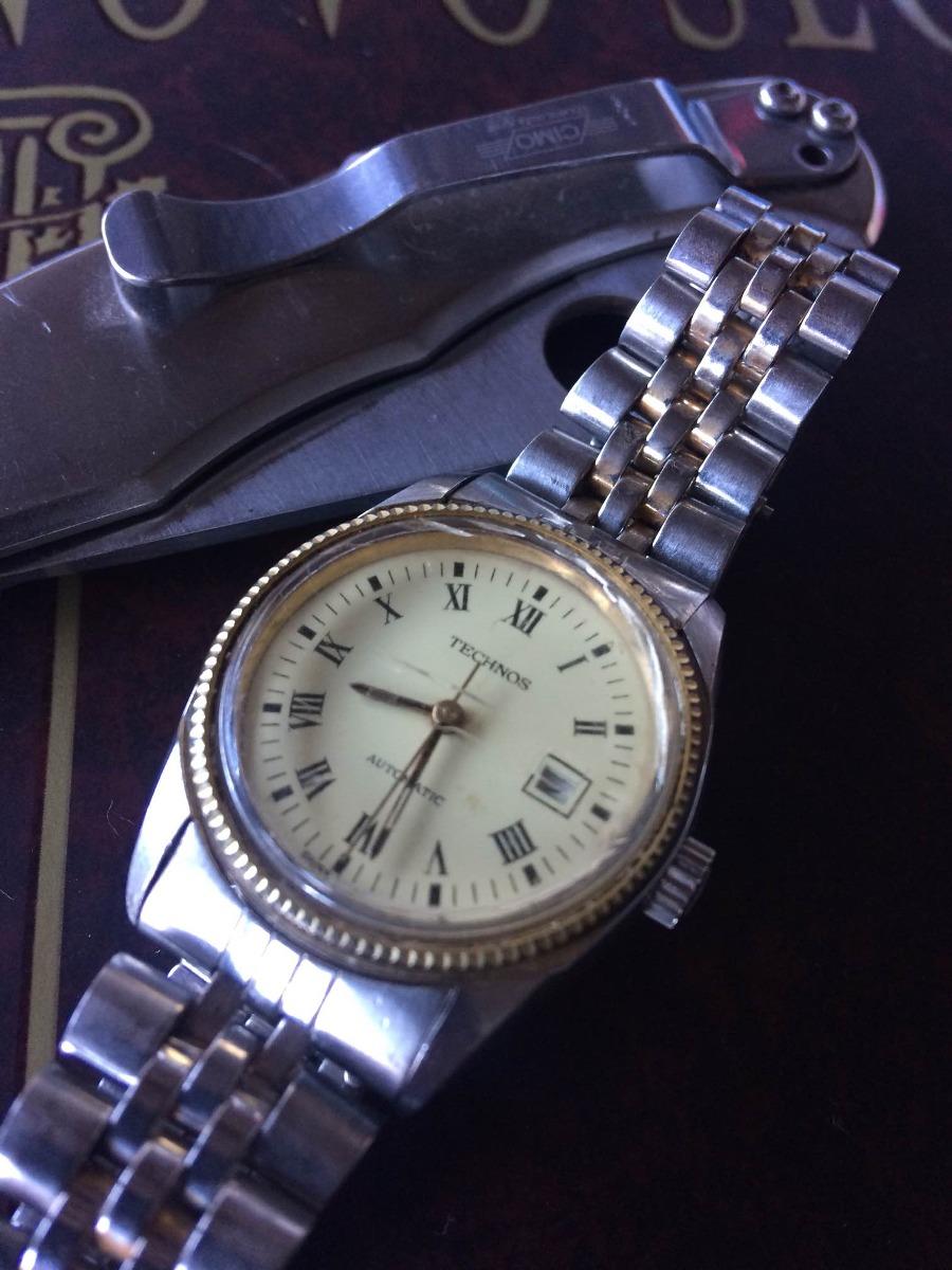 ff2bd0bcf7a relógio technos automatico (parado) canaldorelogio 068. Carregando zoom.