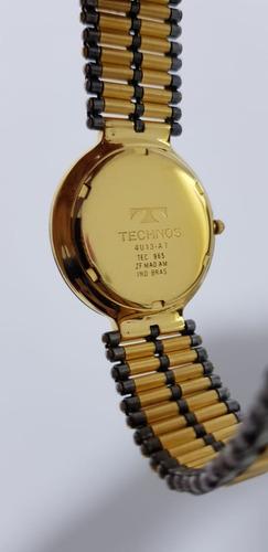 e2782c19ef478 Relógio Technos Ceramic sapphire 4u13-at Original De 1998! - R ...