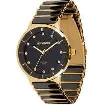 50151716a243c Relógio Technos Cerâmica Vidro Safira 2036lmq 4p - 50 Metros - R ...