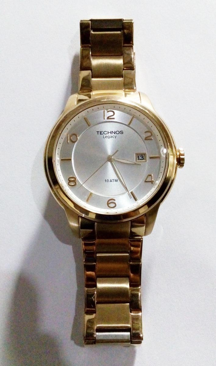 7f17b37c923 relógio technos classic legacy 2315fm 4k - (banhado a ouro). Carregando zoom .