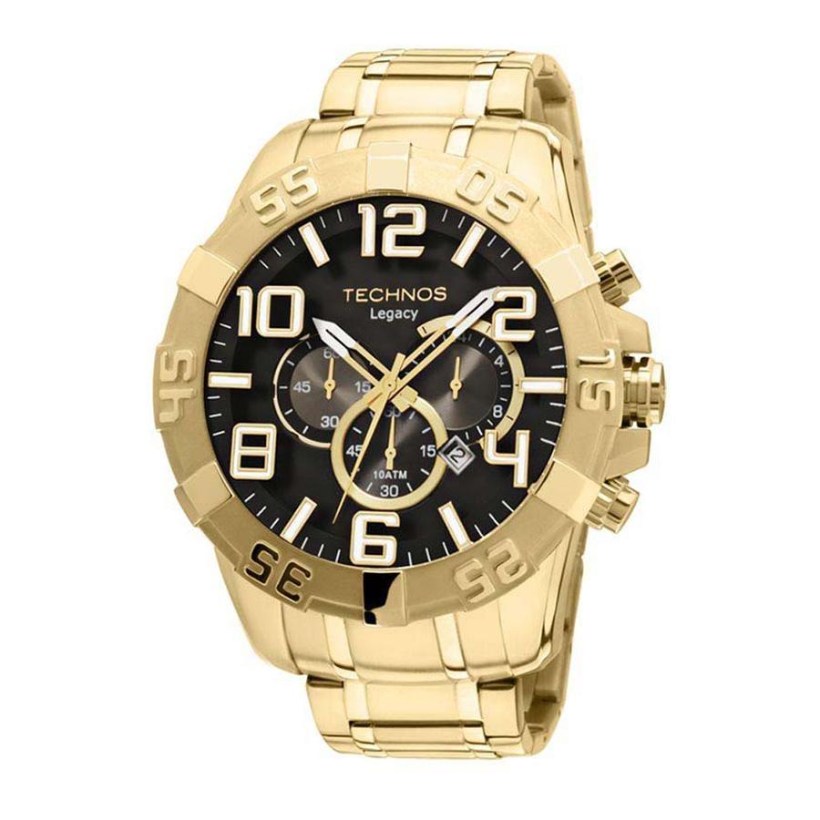 62a9c4bb1daf7 Relógio Technos Classic Legacy Os20im 4p 55mm Dourado - R  643
