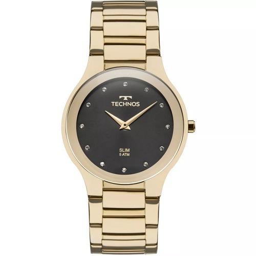 260a36e889b91 Relógio Technos Classic Slim Feminino 1l22wi 4p - R  449,90 em ...