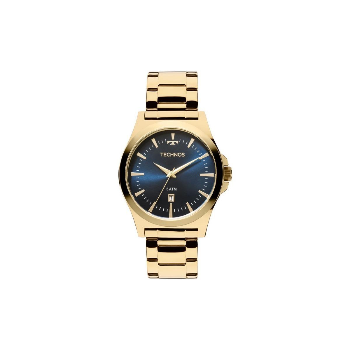 7a9c49c1cd9e4 Relógio Technos Classic Steel 2115lan 4a Masculino - R  275,00 em ...
