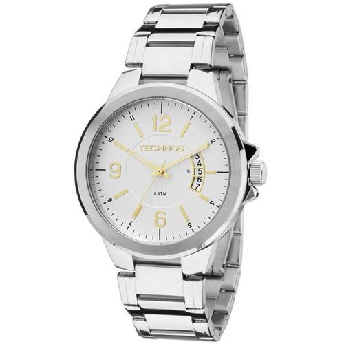 relógio technos classic steel masculino 2115ksk/1c