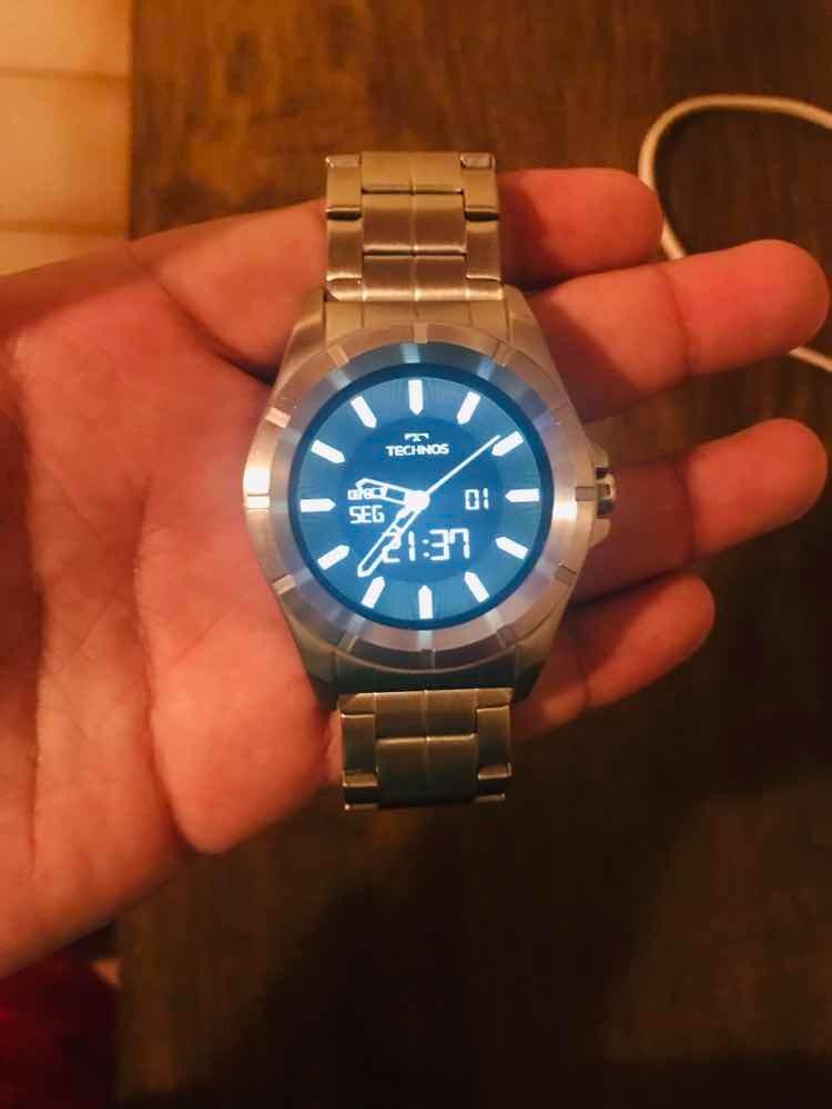 30791e7b3d7 relógio technos connect 3.0 sraa. Carregando zoom.