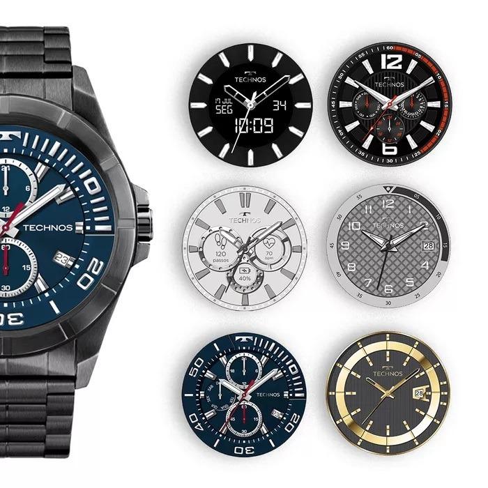 7d2030b4325bd Relógio Technos Connect Full Displ Smart Watch Preto Srac-4p - R ...