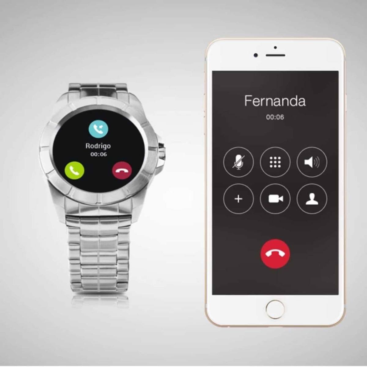 cf4375dc21719 Relógio Technos Connect Full Sraa 1p - R  599,00 em Mercado Livre