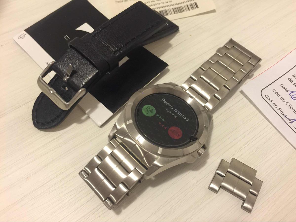 4f482f860ad55 Relógio Technos Connect Smartwatch Sraa 1p Prata - R  890,00 em ...