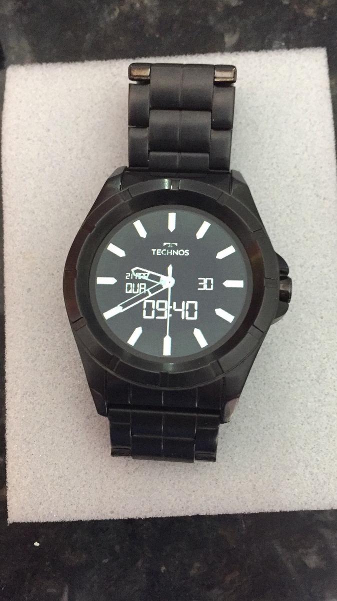 daa4ac54bd514 relógio technos connect smartwatch srab 4p. Carregando zoom.