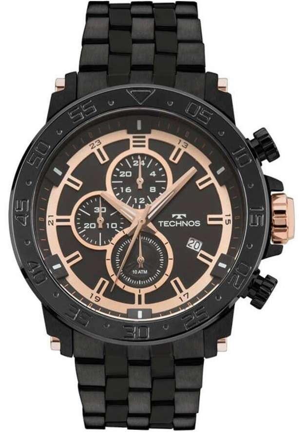 Relógio Technos Cronógrafo Classic Legacy Js15es 4p - R  939,00 em ... 2317ea40ed