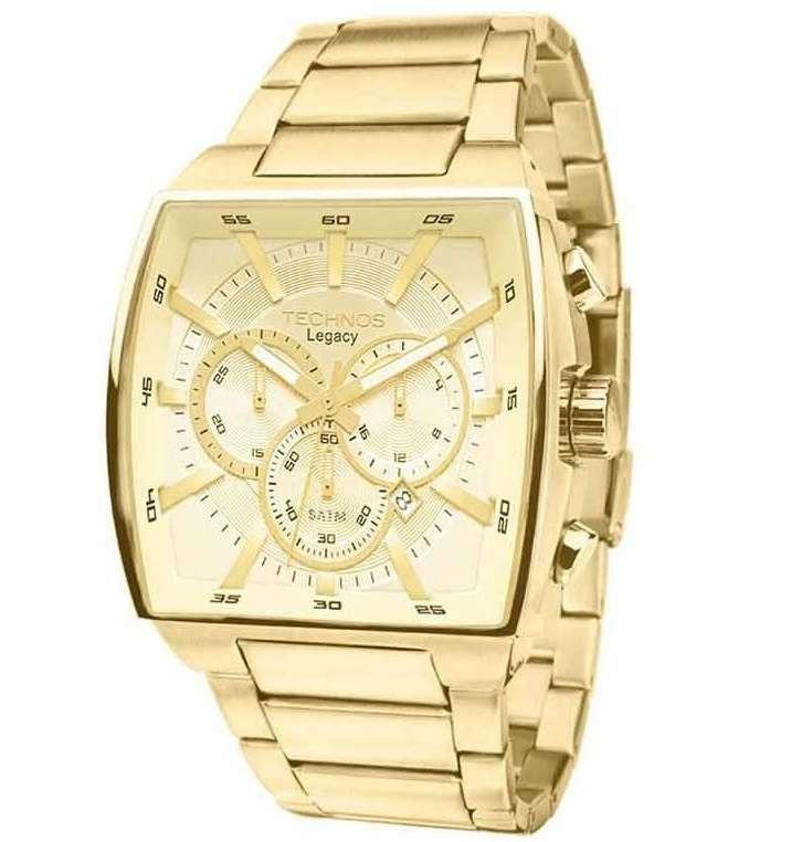 Relógio Technos Cronógrafo Classic Legacy Js25al 4x Dourado - R  959 ... 0944e57d89